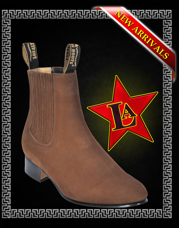 SUEDE CHARRO SHORT BOOTS