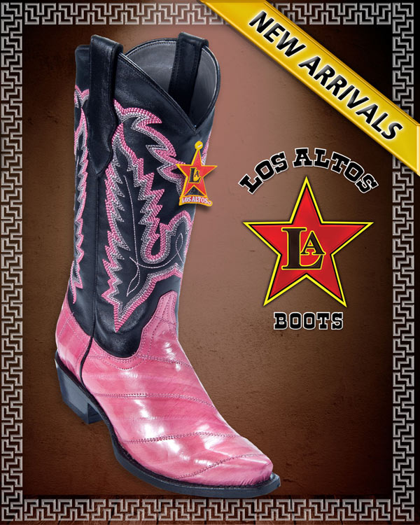 >LADIES EXOTIC BOOTS